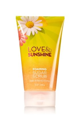 Lemon Sweet Sugar Scrub (LOVE & SUNSHINE Foaming Sugar Scrub 8 oz / 226 g)