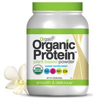 Vanilla Plant Based Protein Powder by Orgain, 2.03 lbs (3)