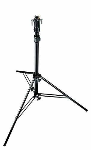 (Manfrotto 256BUAC Self-Locking 2-Section Air Cushion Cine Stand with Leveling Leg (Black))