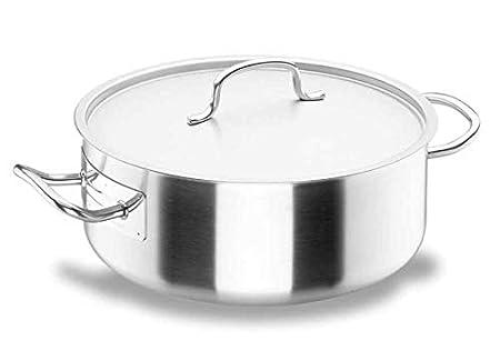 Lacor - 50032 - Cacerola Con Tapa Chef Classic 32cm Inox