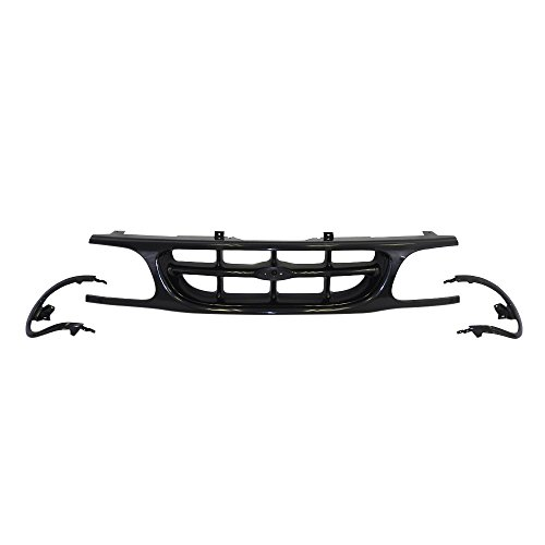 Titanium Plus Autoparts, 1995-2001 Fits For Ford Explorer Front,Upper GRILLE BLACK 2001 Ford Explorer Grille