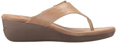 Women's Lt Sandal Aerosoles Wedge Tan Flower wdB4nzAq