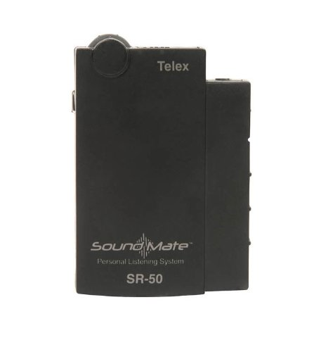 Telex SR-50 SoundMate Single Frequency Personal Reciever (Ch N 75.9) by Telex