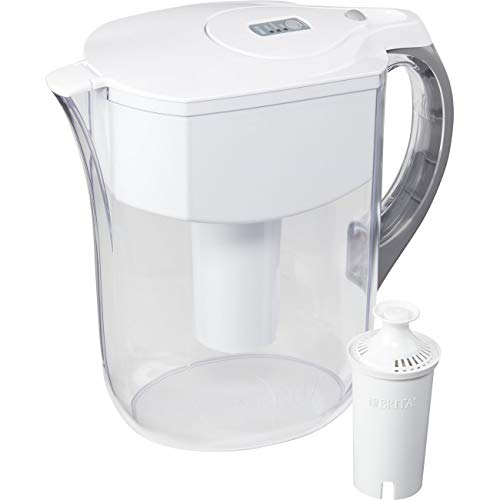 Brita Large 10 Cup Water Filter Pitcher with 1 Standard Filter, BPA Free - Grand, Multiple Colors - 35939 ()
