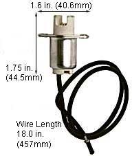 Halogen Light Sockets 8402H4 QTZ (Case of 50)