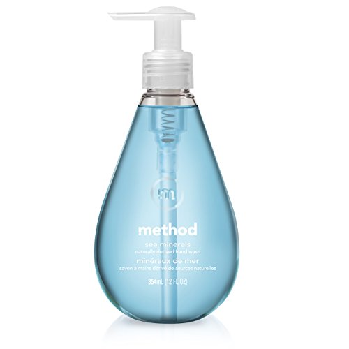 - Method Gel Hand Wash, Sea Minerals, 12 Ounce (Pack of 3)