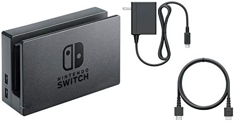 Charging Dock, AC Adapter, & HDMI Cable for Switch Console (Bulk Packaging)