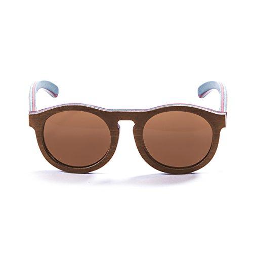 Paloalto Sunglasses P54002.3 Lunette de Soleil Mixte Adulte, Marron