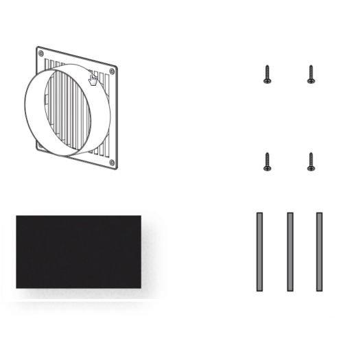Zephyr ZRC-9000 Recirculating Kit for the AK9028 and AK9034AS Model Range Hood I, N/A
