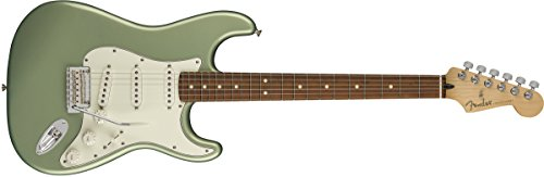 Fender Player Stratocaster Electric Guitar - Pau Ferro Fingerboard - Sage Green Metallic