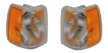 Volvo 740 Turbo (Corner Side Marker Turn Signal Parking Light Lamp Pair Set for Volvo 960 740 940)