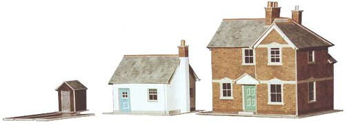 Railway Cottage (Superquick A11 Station Masters House (130 X 100Mm) &Cottage (94 X 73Mm))