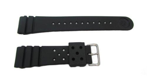 Seiko Pro Diver Strap (22mm, Black, Part 4F24ZZ) -  2393