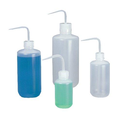 2401-0250 - Nalgene Economy Wash Bottles, Low-Density Polyethylene, Narrow Mouth, Thermo Scientific - Capacity : 250 mL (8.5 oz.) - Case of 36
