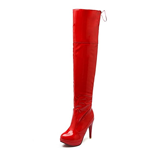 AdeeSu Red Botas Chukka mujer Botas Chukka AdeeSu AdeeSu Red mujer EgqazSwUS