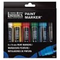Liquitex 4690001 Acrylic Paint Marker 6-Color Wide Set