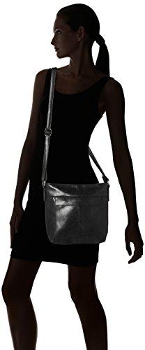 Handbag Bolsos Bandolera schwarz Negro Carla Mujer rrqxOHpPn