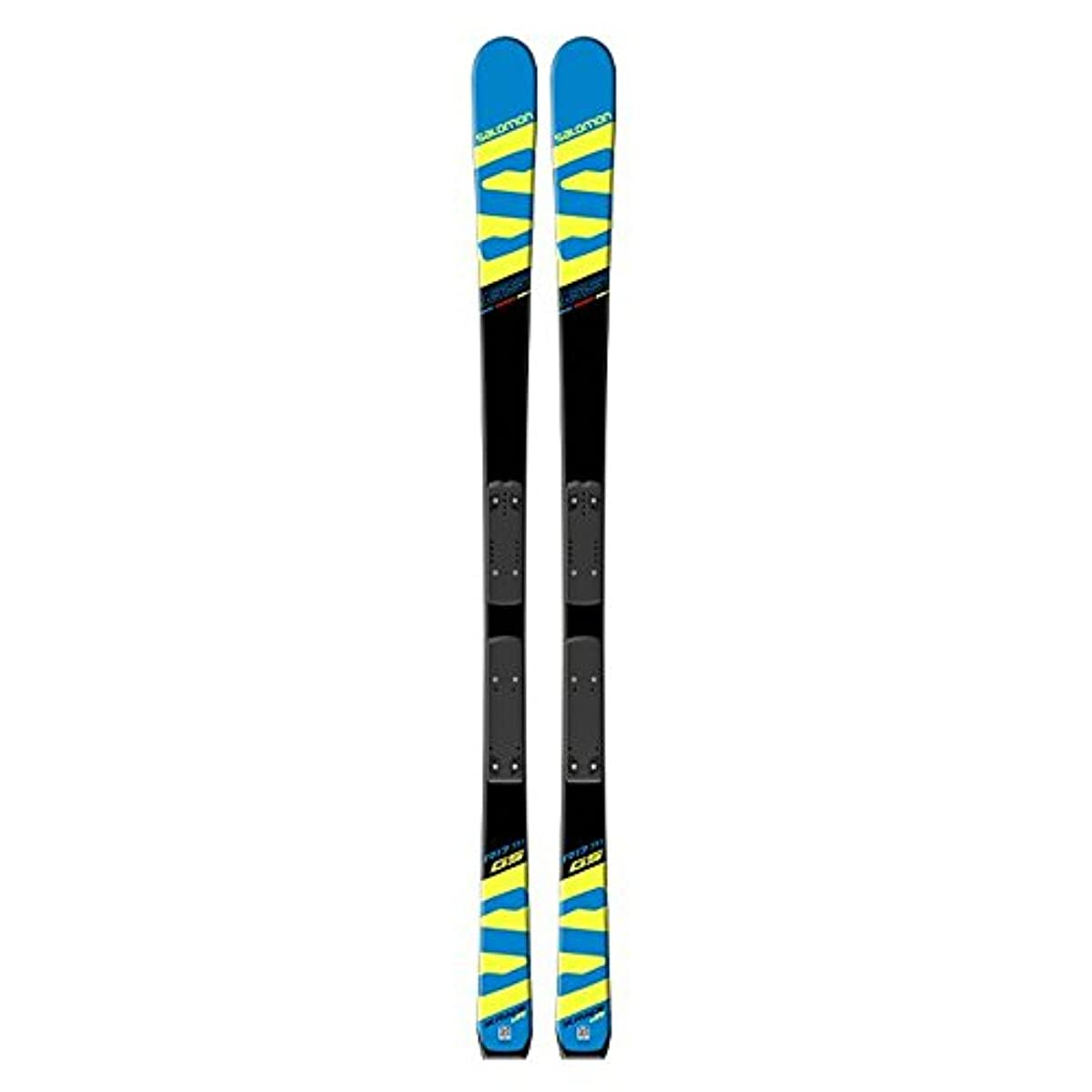 [해외] 2017-18 SALOMON 살로몬 X-RACE JR GS+RACE PLATEJR 152CM 쥬니어 GS 레이싱 SKI판 만