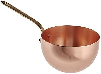 Mauviel Made In France M'Passion 2195.20 Copper 3-1/2-Quart Zabaglione Pan