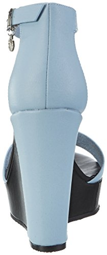 Armani 9251527p546 - Sandalias Mujer Blau (new Light Blue)
