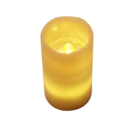ThsiJJ LED Candle Light Flameless Projection Halloween Lamps