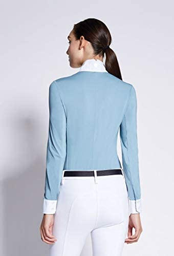Asmar Costa冷却Showシャツ–ホワイト/ Azure