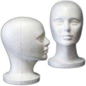 foam bald mannequin head - 9