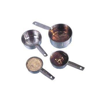 American Metalcraft MCL4 Measuring Cups, Set of Four Cups (Metalcraft Measuring Stainless American Cups Steel)