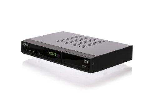 Xoro HRM 8760 CI+ Digitaler Kabel-Receiver (HDTV, DVB-C/T Multi-Tuner, HDMI, SCART, YPbPr, CI+, USB 2.0) Schwarz