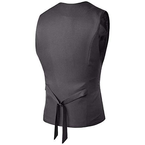 shirt Vestitino Vest Fit T Vestibilità Bobo Da Uomo Casual 88 Grau Slim zfAxvwExq