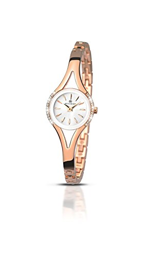 Ladies Accurist Stainless Steel Watch 8135