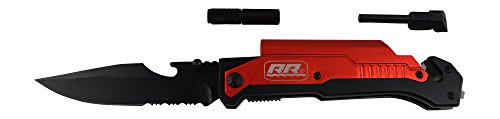 NEW-Rogue-River-Tactical-Knives-Best-Red-6-in-1-Multitool-Survival-Pocket-Knife-with-Magnesium-Fire-Starter-LED-Flashlight-Bottle-Opener-Seat-Belt-Cutter-and-Windows-Breaker