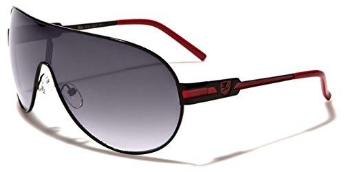 Khan Men's Round Aviator Shield Lens Sport Designer Sunglasses for $<!--$11.99-->