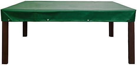 Abdeckplane Abdeckhaube Fur Gartentisch Gartenmobel Premium Schutzhulle Aus Lkw Plane 650gr Hollandgrun Absolut Winterfest Und Wasserdicht