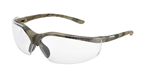 Elvex WELSG12CCAMO Acer Safety Glasses, Green Forest CAMO Frame, One Size, Clear Lens