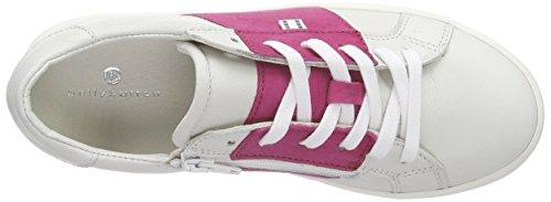 bellybutton Mädchen Sneaker Low-Top Weiß (bianco fuchsia)