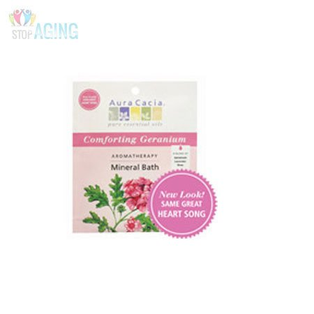 (Aura Cacia Heart Song Aromatherapy Mineral Bath Salt, 2.5 Ounce -- 6 per case.)