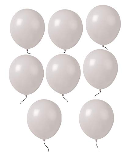 King's deal (Tm) High 12 Inches Quality Ultra Thickness Latex Balloon 100 Count (White)