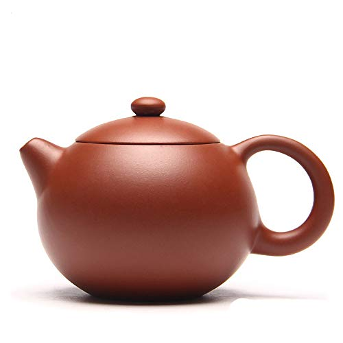 Yixing Clay - ZiSha Teapot,Chinese Traditional Craft teapot,Yixing Genuine Xishi Pots (Red Clay)