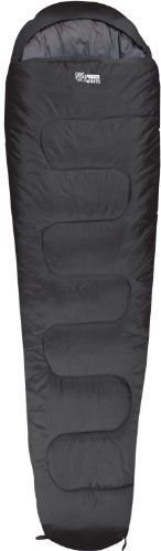Highlander Sleepline 300 Mummy Sleeping Bag – ブラックby Highlander B01LE3CQNU