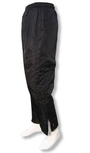 Mesh Lined Wind Pants (Viper' water-resistant soccer warm-up pants - size Adult L - color Black)