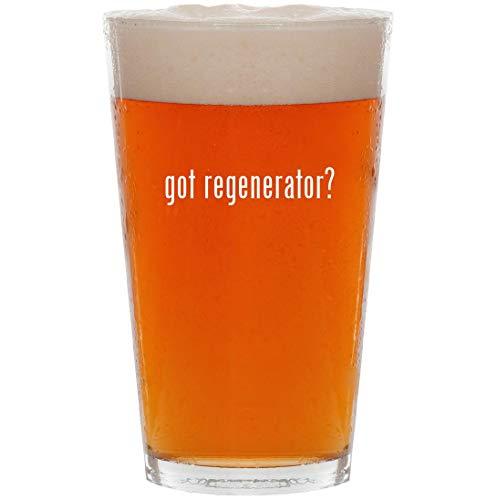 got regenerator? - 16oz Pint Beer Glass (Serum Skin Wexler Regenerating)