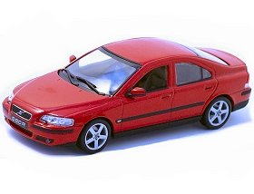 Volvo S60 R In Red 1 43 Scale Diecast Model Car Amazon Co Uk
