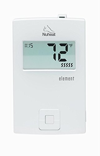 Non Programmable Floor (Nuheat Element Non Programmable 120/240V Radiant Floor Heating Thermostat GFCI and LCD)