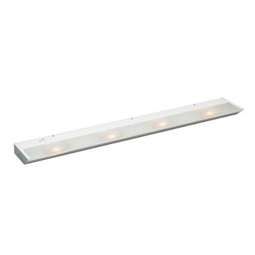 Kichler  12014WH 4 Light Undercabinet Display Under Cabinet Light, White
