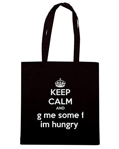 Borsa AND ME Shirt G Speed HUNGRY SOME F Shopper IM Nera KEEP CALM TKC1020 5qZBxzwB0