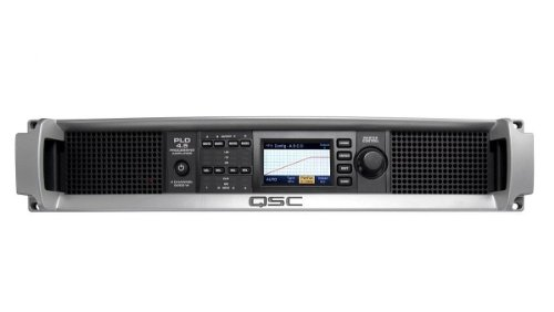 Pro Series Powered Subwoofer - QSC PLD4.5 Multi-Channel System Processing Amplifier