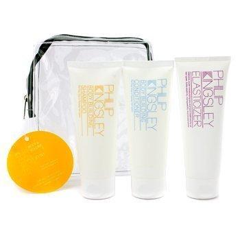 (Philip Kingsley Body & Volume Jet Set: Shampoo + Conditioner + Elasticizer 3pcs)