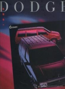 1989 DODGE CARAVAN PRESTIGE COLOR SALES CATALOG - HUGE - USA - Sales Caravan Usa