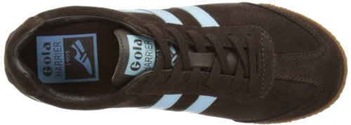 Harrier Womens Suede Dark Dark Gola Sport Brown Brown Trainers Zn6qwxaOx